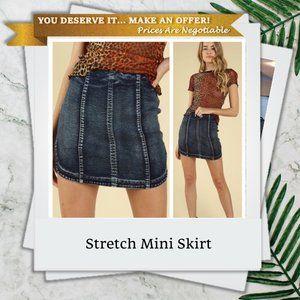 Mini Skirt w/ Stretch